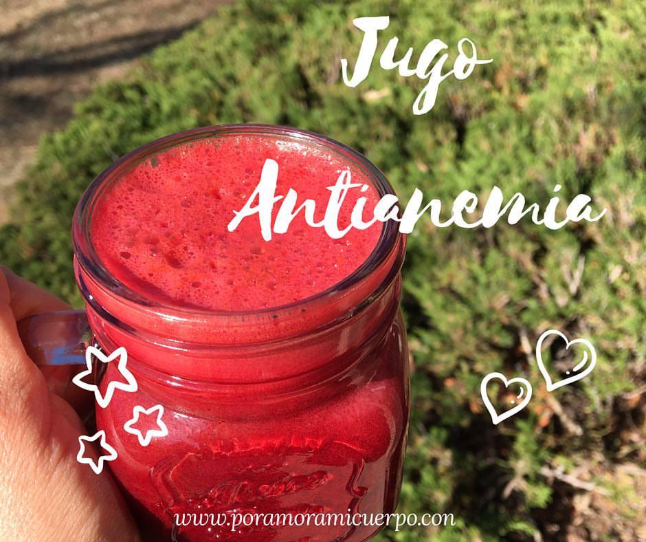 jugo antianemia